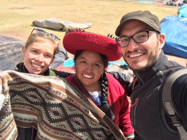 Chinchero - marche artisanal - textile - cusco - Pérou