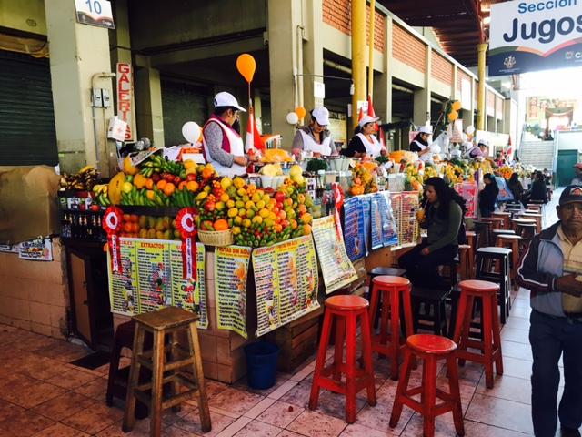 Mercado san camillo - Arequipa - Pérou