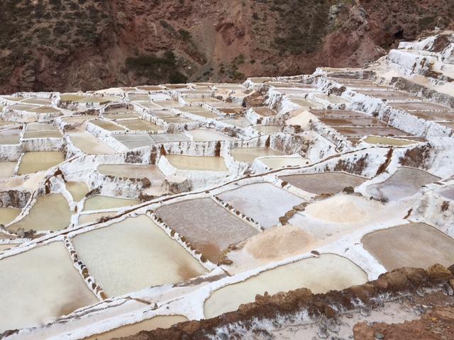 las Salineras - Maras - vallée sacrée - perou