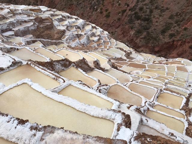 las salineras - Maras - vallée Sacrée - Pérou
