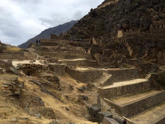 Ollantaytambo - ruines - Pérou