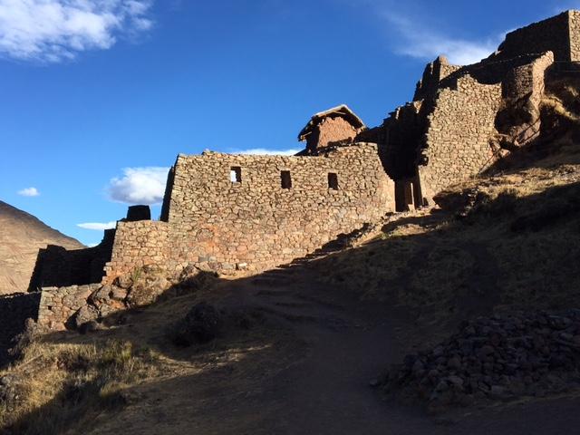 Pisac - ruines - Pérou
