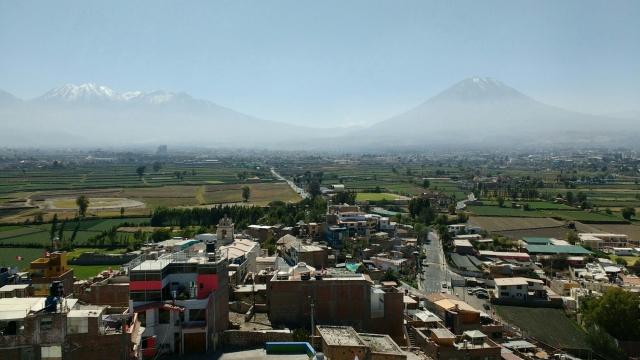 Mirador de sachaca - Arequipa - Pérou