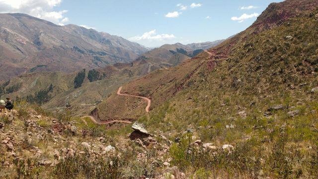 Chemin inca - Chataquilla à Chaunaka - Sucre - Bolivie