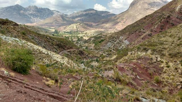 Cratère de Maragua - trek des tisserands Jalq'a - Sucre - Bolivie