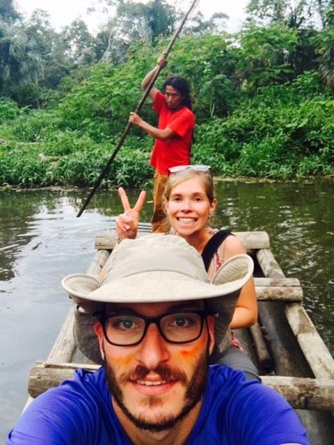 Radeau - Salvacion - Jungle manu - Amazonie - Pérou