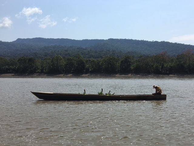 Pirogue - Shintuya - Jungle manu - Amazonie - Pérou