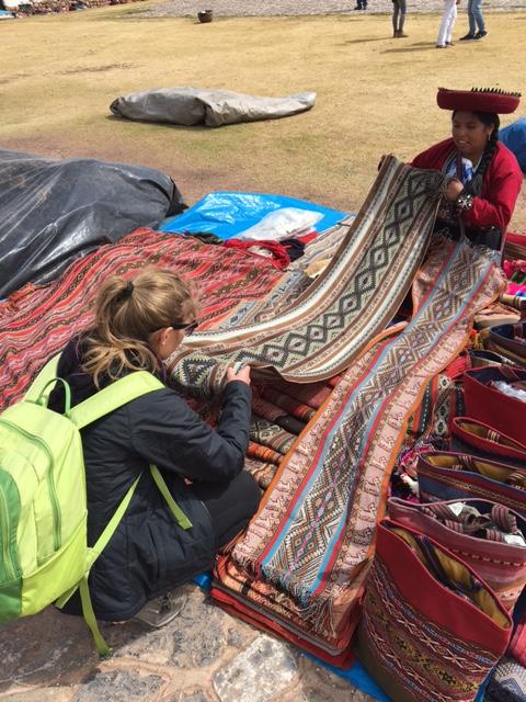 Tissage Pérou - textile artisanal - Cusco - Pérou