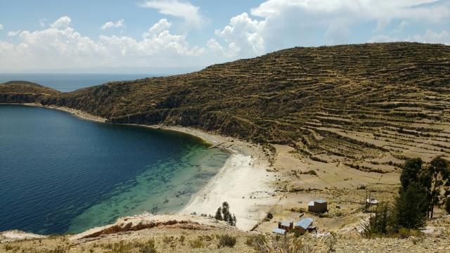 Isla del sol - lac Titicaca - Copacabana - Bolivie