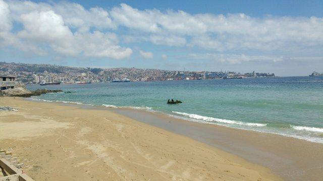 Valparaiso - plage - Chile