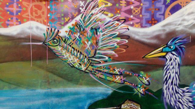 Valparaiso - street art graffiti - Charquipunk - Chile