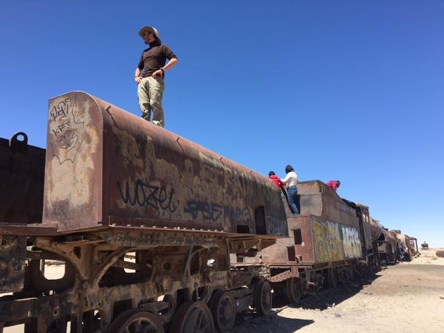 Cimetière de train - Salar d'Uyuni et Sud-Lipez - Bolivie