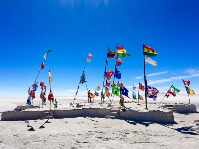 Drapeaux - Salar d'Uyuni et Sud-Lipez - Bolivie