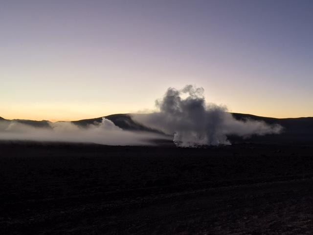 Geysers - Salar d'Uyuni et Sud-Lipez - Bolivie