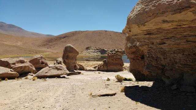 Lagune - Salar d'Uyuni et Sud-Lipez - Bolivie