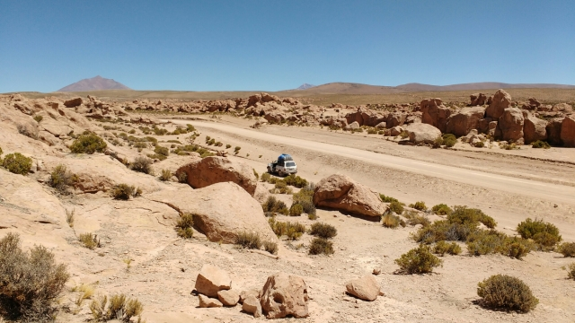 Las rocas - Salar d'Uyuni et Sud-Lipez - Bolivie