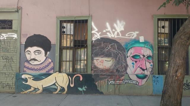 Santiago du Chili - street art