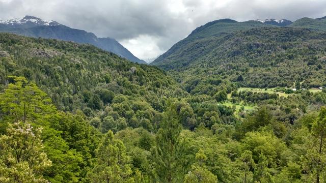 Rando el cajon de Azul - el Bolson - Patagonie - Argentina