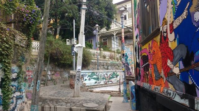 Valparaiso - street art - graffitis - Chili