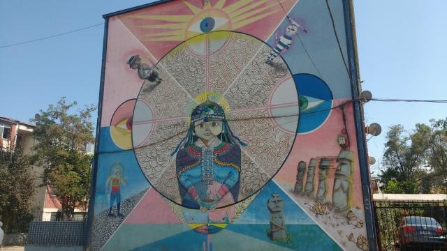 El museo a cielo abierto - street art - Santiago - Chili