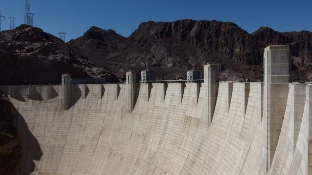 barrage hoover dam - united states