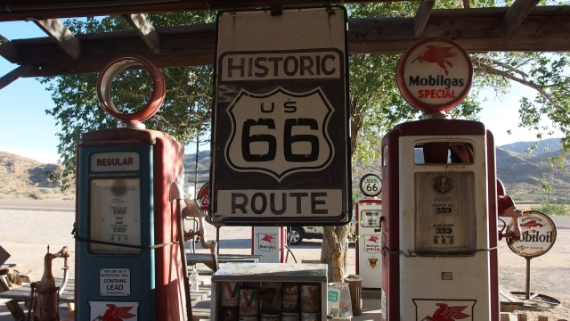 road 66 - hackberry - united states