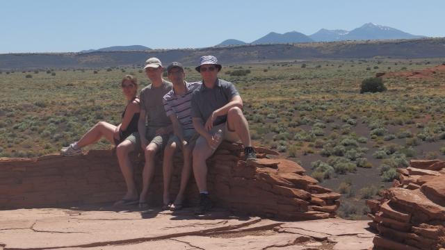 ruines Wupatki - Arizona - usa