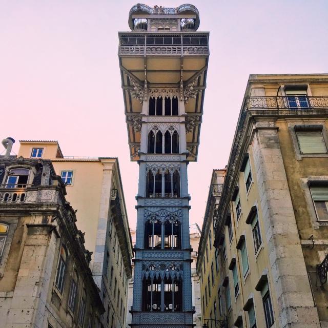 Lisbon_Portugal_elevador da Santa Justa