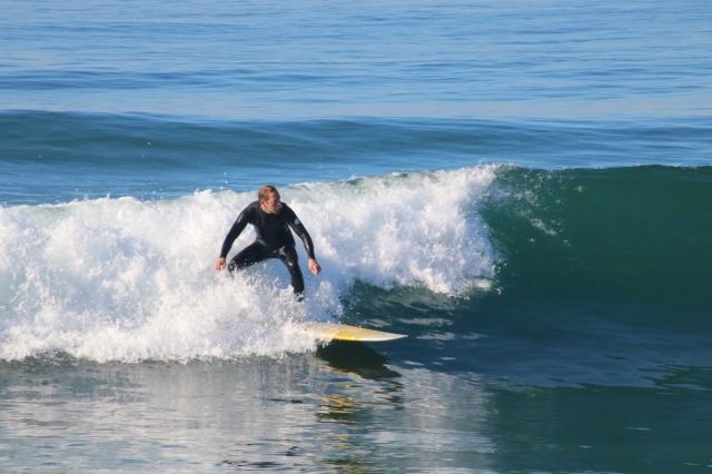 Carlsbad - Plage et surfer - Californie - USA