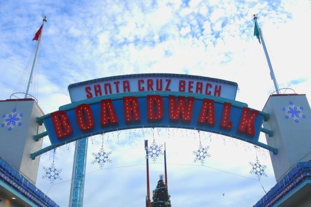 Santa Cruz - welcome - Californie - USA