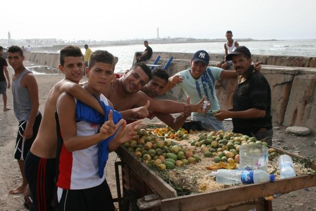 Maroc - Casablanca - figues de Barbarie