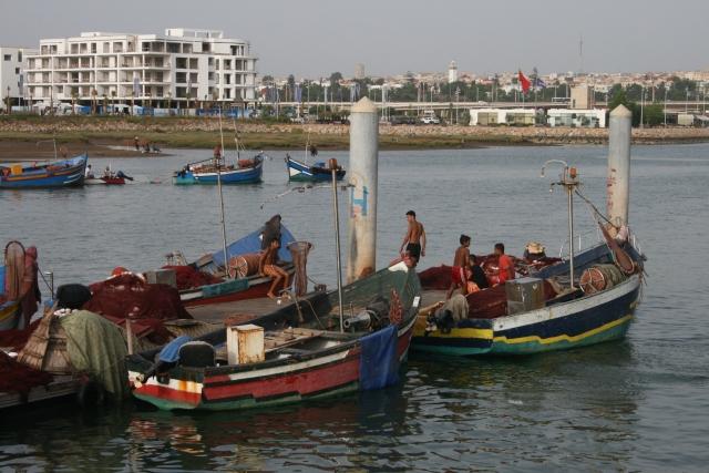 Maroc - Rabat - port