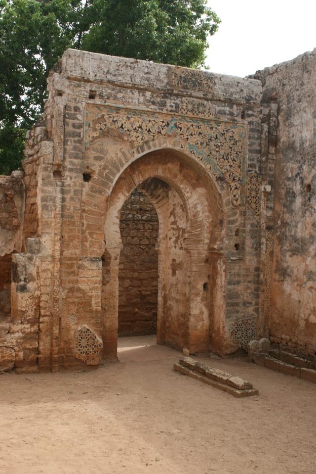 Maroc - Rabat - ruines de Chellah