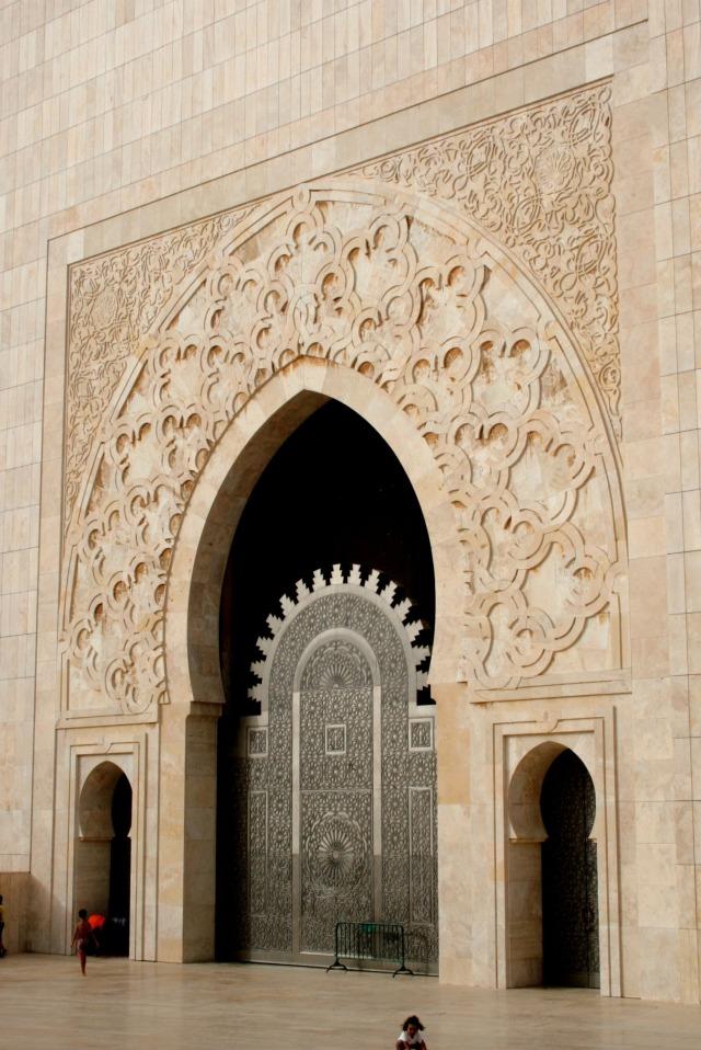 Maroc - casablanca - mosquée Hassan II