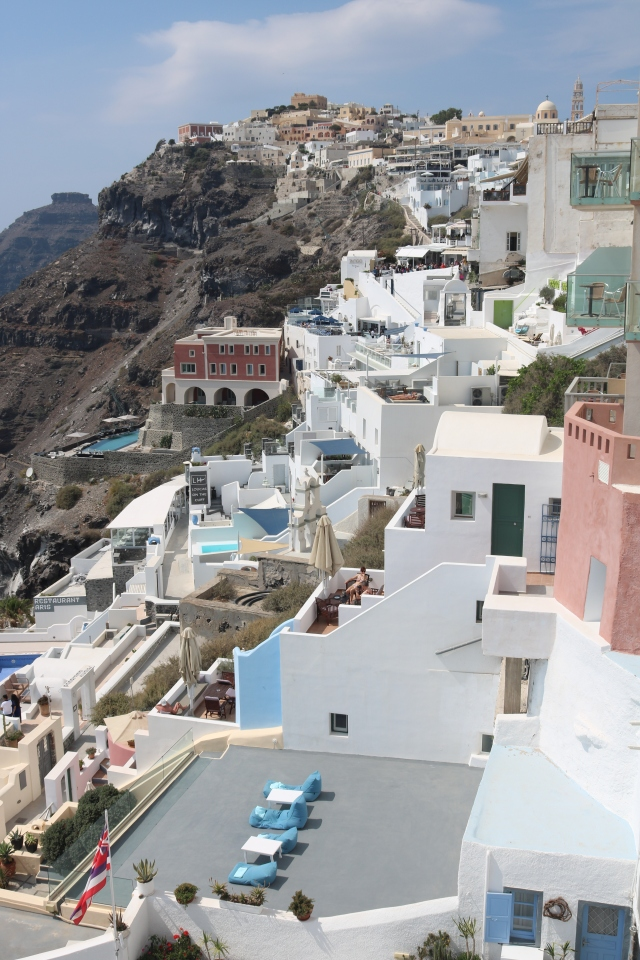 Fira et Oia - Santorini - Grèce