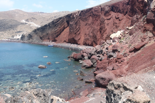 Red beach - Santorini - Grèce