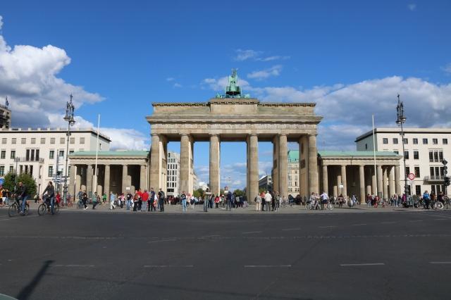 Porte de Brandebourg - Berlin - Allemagne