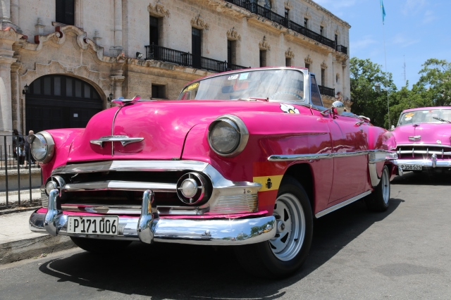 La Havane - Cuba - Vieja Habana - voiture