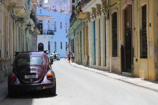 La Havane - Cuba - Vieja Habana - rue