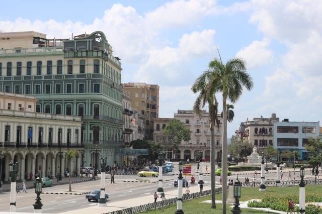 La Havane - Cuba - La Habana Vieja - Paseo de Marti